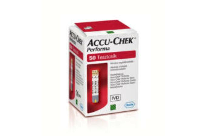 Accu-Check Performa tesztcsík 50x