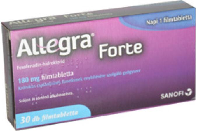Allegra Forte 180mg filmtabletta 30x