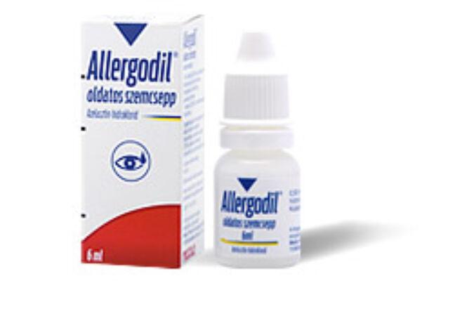 Allergodil oldatos szemcsepp 0,5mg/ml (6ml)