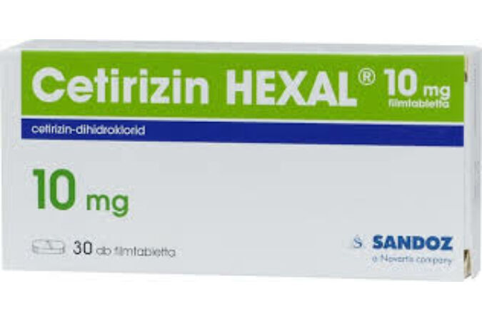 Cetirizin Hexal 10mg filmtabletta 30X