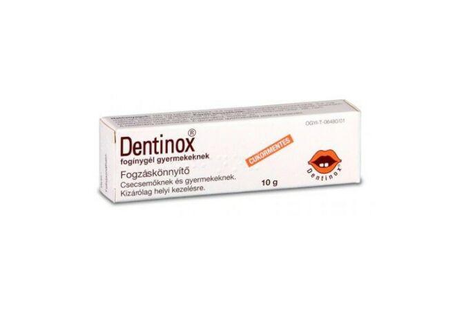 Dentinox fogínygél 10g