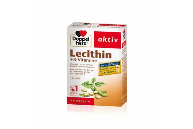 Doppelherz Lecitin + B-Vitamin kapszula 40x Lejár:2020.11.30