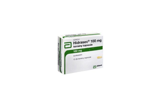 Hidrasec 100 mg kemény kapszula 10x