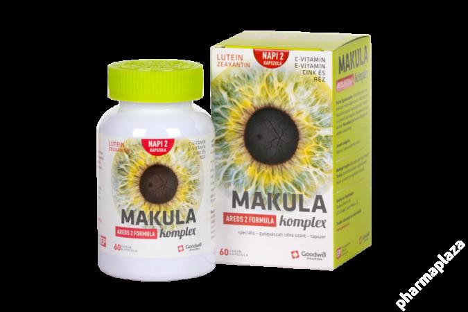 Makula komplex kapszula AREDS 2 FORMULA 60x