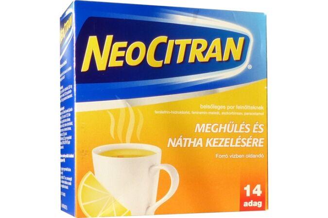 Neo Citran belsőleges por felnőtteknek, 14 tasak