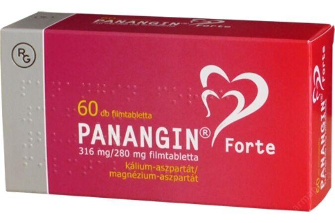 Panangin Forte 316/280mg filmtabletta 60x