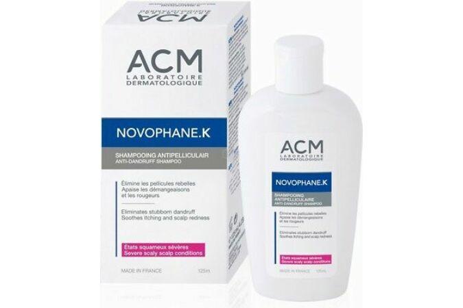 ACM Novophane K Sampon psoriasis kezelésére 125ml