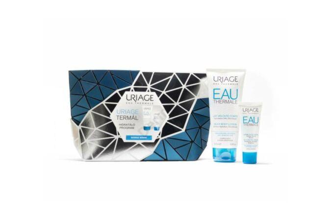 Uriage Termál hidratáló arckrém RICHE száraz bőrre 40 ml + Silky Body hialuronsavas testápoló tej 200 ml
