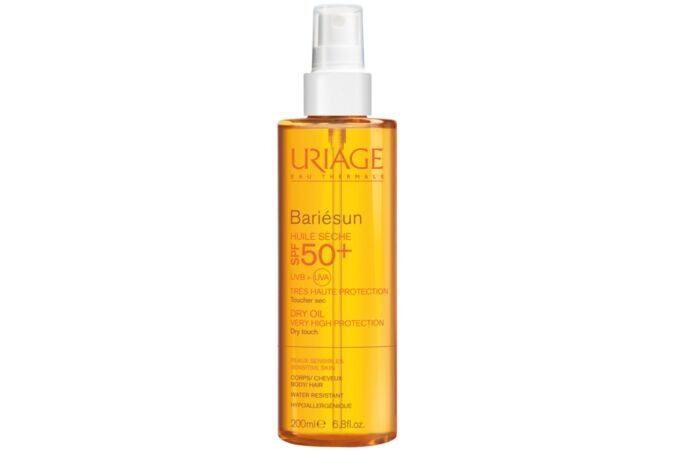 Uriage Bariésun száraz olaj spray SPF 50+ 200ml