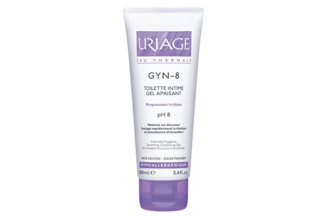 Uriage GYN-8 nyugtató intim mosakodó gél pH8 100ml Lejár:2021.02.28