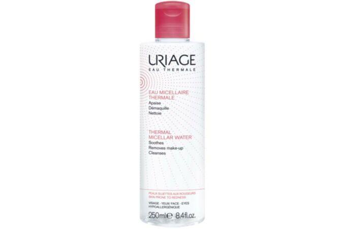 Uriage micellás arclemosó érzékeny/kipirosodott bőrre 250ml