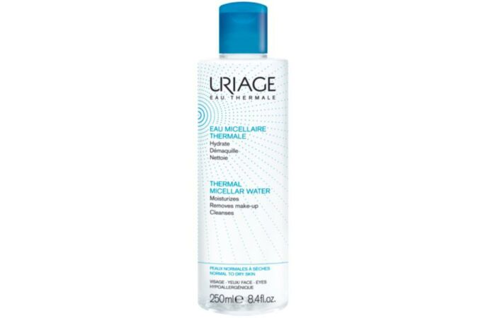 Uriage micellás arclemosó normál/száraz bőrre 250ml