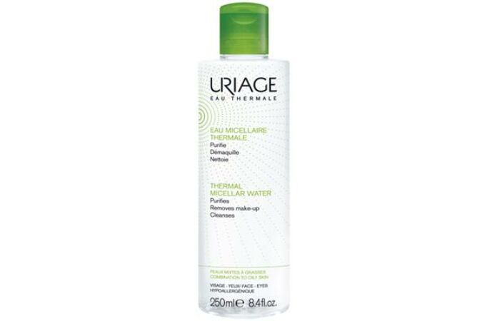 Uriage micellás arclemosó termálvízzel zsíros/kombinált bőrre 250ml