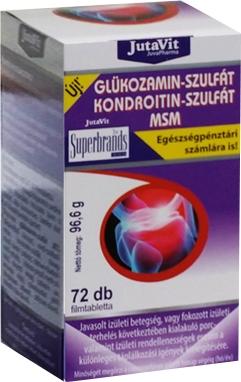kondroitin glükózamin-gyógyszerrel)